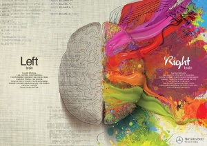 Left Brain Right Brain - Mercedes Benz Ad